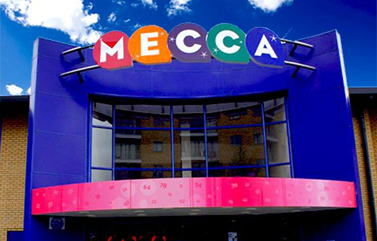 Picture of the Mecca Bingo building in Telford